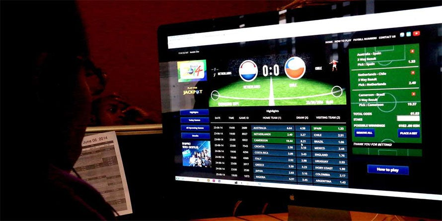 Online betting is gaining popularity